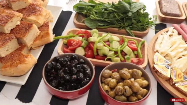 Misafire Özel Kahvaltı Tabağı Fikirleri 2