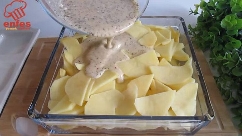 Patates İle Yapılan Tadına Doyulmaz Tarif 2