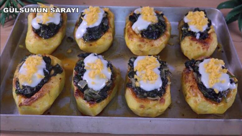 Patatesin Ispanak İle En Lezzetli Tarifi 3
