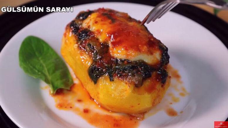 Patatesin Ispanak İle En Lezzetli Tarifi 4