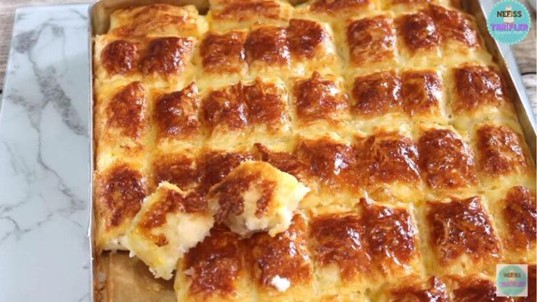 Ramazanda Favoriniz Olacak Hazır yufka Böreği