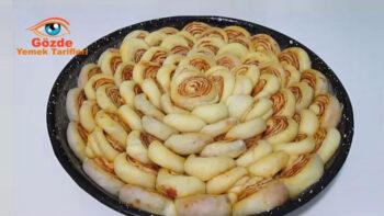 Sırrı Sosunda Saklı Farklı Kahvaltılık Çörek Tarifi