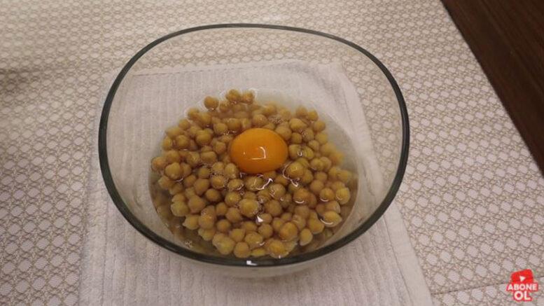 Nohutu Yumurta İle Çırparak Yapılan İkramlık Tarifi 1