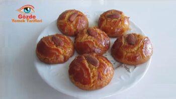 Portakallı Gerçek Pastane Şekerparesi Tarifi