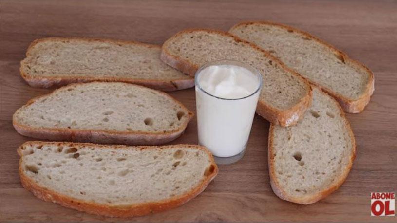 Ekmek Ve Biraz Yoğurttan Sahurluk Tarifi 1