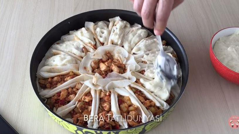 Ramazana Çok Yakışacak Yufkalı Sandal Tarifi 3