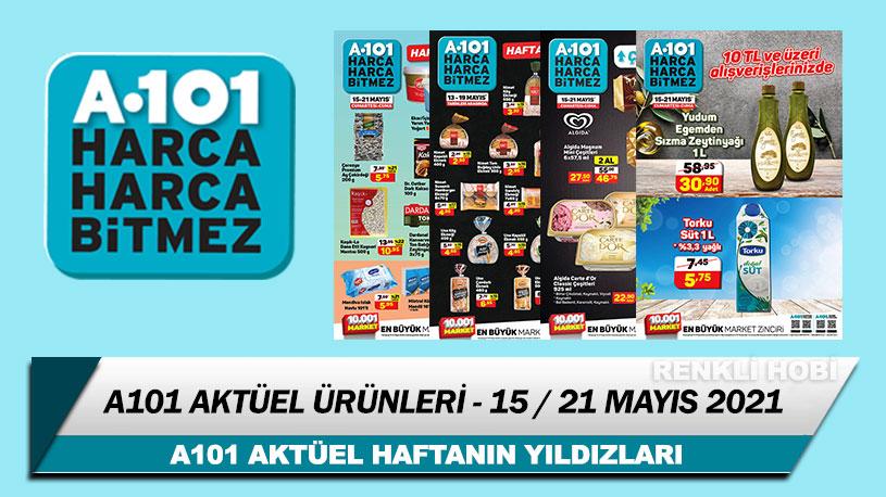 A101 Aktüel Ürünler 15-21 Mayıs 2021 Kataloğu – A101 Haftanın Yıldızları