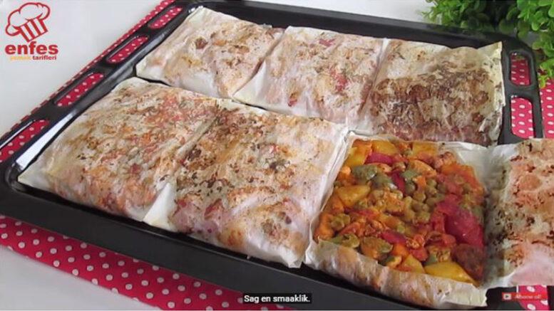 Lokum Gibi Eriyen Kağıt Kebabı Tarifi