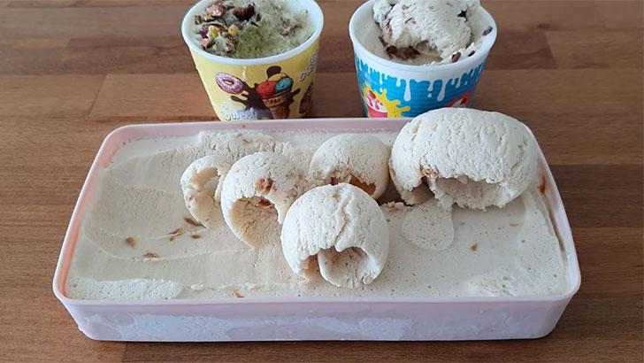 Mikserle Orjinal Dondurma Tarifi