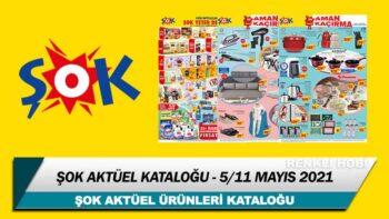 ŞOK Aktüel 5 – 11 Mayıs 2021 Kataloğu – ŞOK Haftanın İndirimli Ürünleri