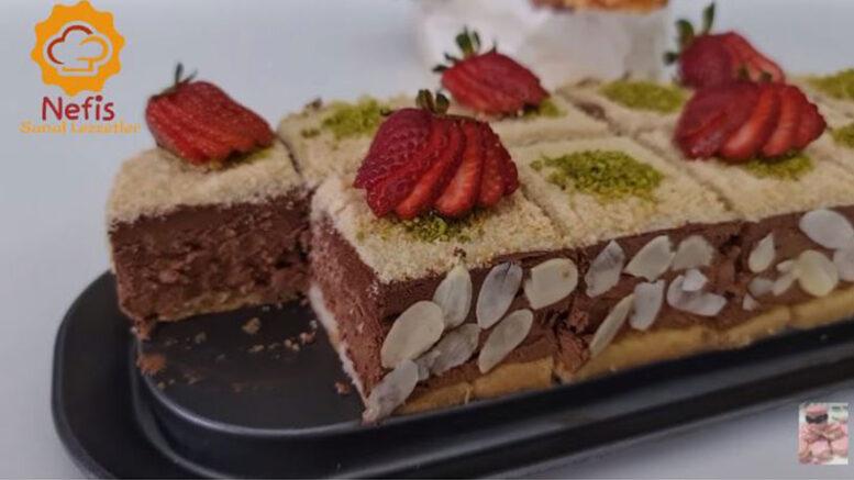 Kola İle Pişmeyen Pasta Tarifi