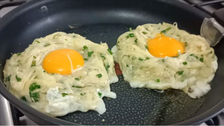 Patatesli Aşırı Kolay Kahvaltılık Tarifi