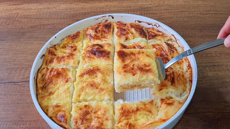 Peynirsiz Peynirli Börek Tarifi