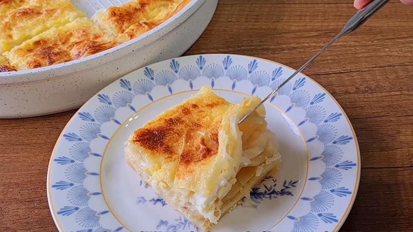 Peynirsiz Peynirli Börek Tarifi 2