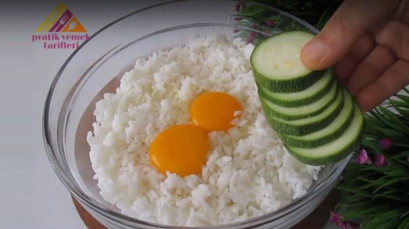 Pirinçli Şok Lezzetli Kahvaltılık Tarifi 1