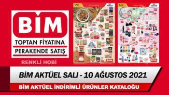 BİM Aktüel 10 Ağustos 2021 Salı Kataloğu – Bim İndirimli Ürünleri