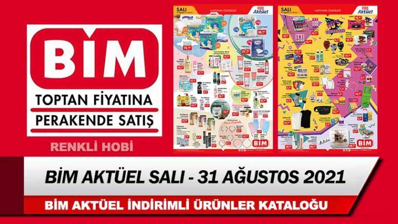 BİM Aktüel 31 Ağustos 2021 Salı Kataloğu – Bim İndirimli Ürünleri