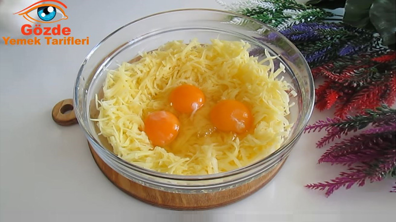 Patates Soğanlı Tavada Kahvaltılık Tarifi 1