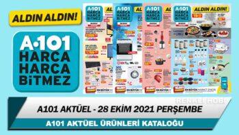 A101 Aktüel Kataloğu Birbirinden İlginç Ürünlerle Yayınlandı 28 Ekim 2021