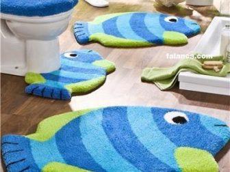 Bal K Desenli Banyo Paspas Modelleri