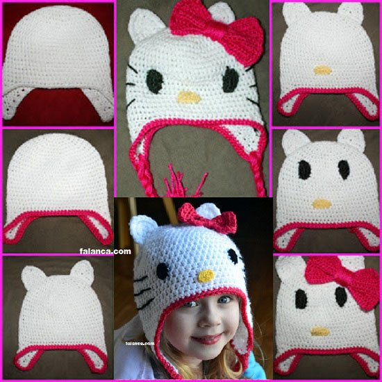 Free Patterns For Hello Kitty Beanie