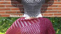 Kolay Şiş Örgü Şal (Hyrna  herborgar shawl)