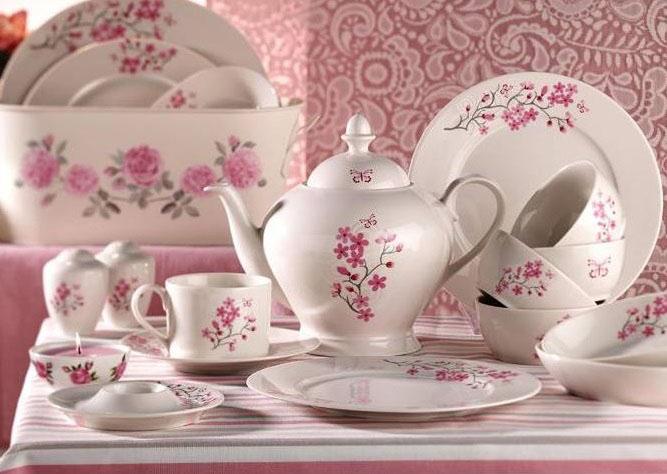 Porselen Kahvaltı Takımı Modelleri - 8