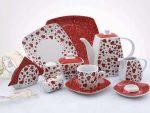 Kalp Desenli Porselen Kahvalt Tak M Modelleri
