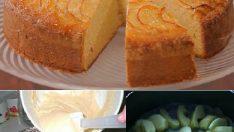 Karamelli Elmalı Kek