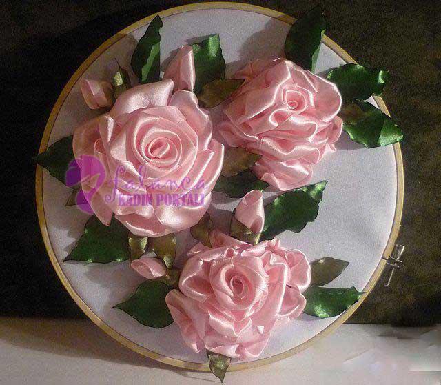 Kurdela İşleme Çiçek Yapımı