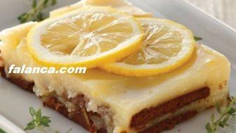 Limonlu Bisküvi Tatlısı