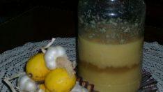 Limonlu Sarımsak Kürü