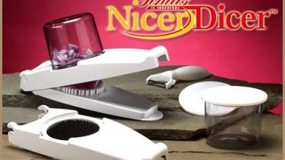 Nicer Dicer Plus Pratik Doğrayıcı Mutfaktaki Yeni Yardımcınız