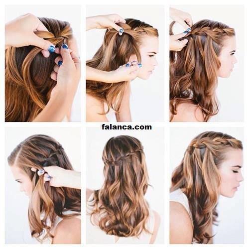 Lise Saç Modelleri Ve Yapılışları Resimli 6