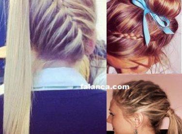 Lise Saç Modelleri Ve Yapılışları Resimli