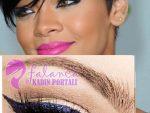 Rihanna Makyaji Yapilisi