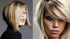 Yuvarlak yüz İçin saç kesimi ve stilleri