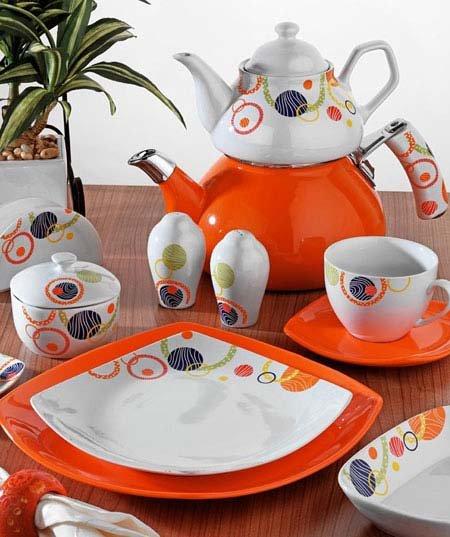 Porselen Kahvaltı Takımı Modelleri - 12