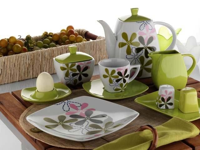 Porselen Kahvaltı Takımı Modelleri - 13