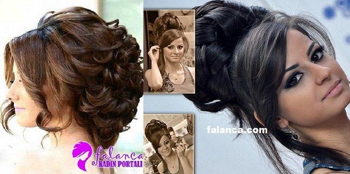 Gelin Saçı Modelleri Ve Renkleri