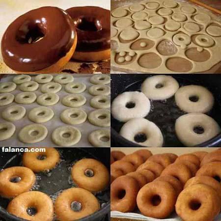 amerikan donut tarifi