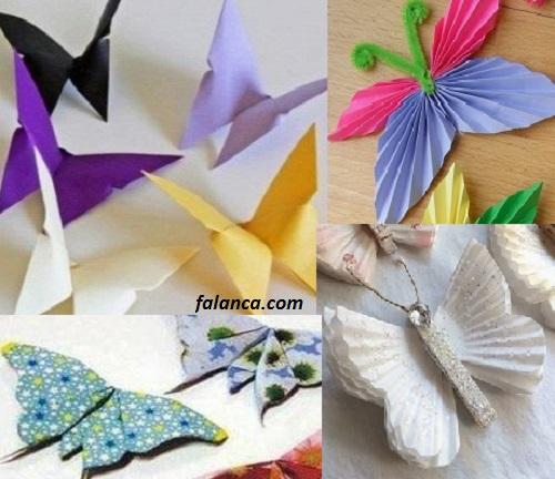 Origami ile Kelebek Yapımı - 6