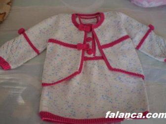 Resimli Anlatımlı Bebek Elbisesi