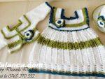 Anlatimli Bebek Orguleri Elbise 4