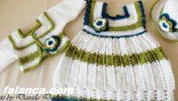 Anlatımlı Örgü Bebek Elbise Modelleri