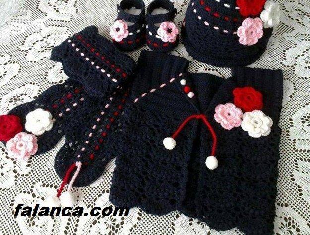 Anlatimli Bebek Orguleri Elbise 7