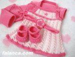 Anlatimli Bebek Orguleri Elbise 9