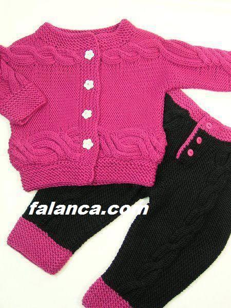 Anlatimli Bebek Pantalon Hirka Modeli