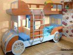 arabali katli yatakli ozel tasarim ranzalar 3 150x113 - Arabalı Katlı Özel Tasarım Ranza Modelleri