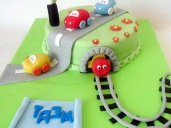 arabali tasarim pasta  336x252 - Özel Tasarım Pasta ve Kurabiyeler